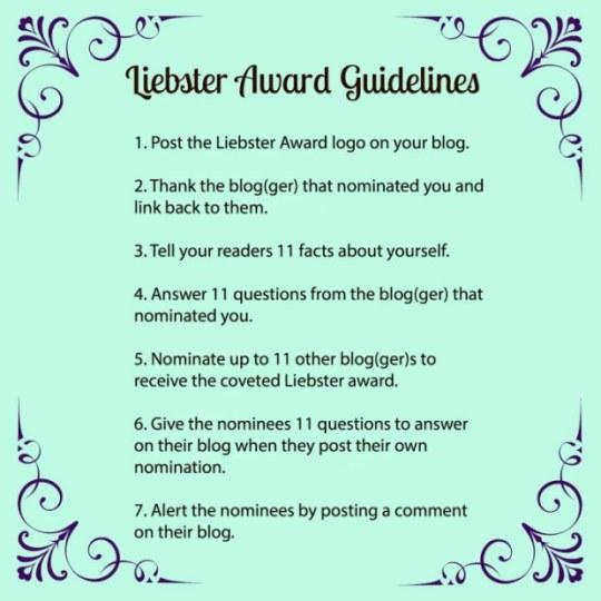 liebster-award-rules